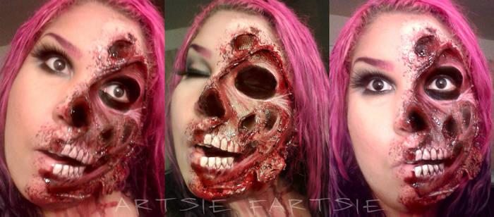 Face Peel by ARTSIE-FARTSIE-PAINT