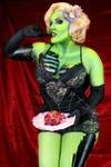 Valentine's day Pinup Zombie