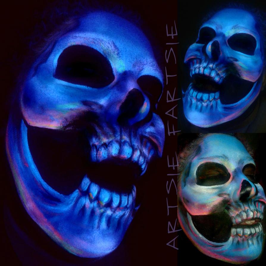 Ultraviolet Spray Paint