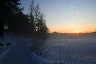 Frost mist by hrmeyer