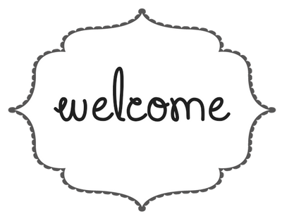 Welcome Button | F2U by UmieArt