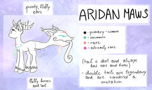 Aridan Maws | Semi-Open Species (Not available) by UmieArt