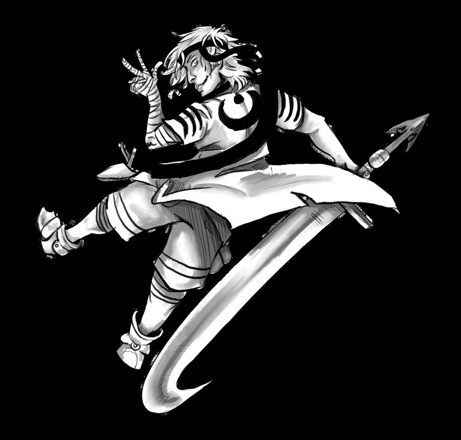 Ko Fi Sketch 2 By The Nightmare Doctor On Deviantart