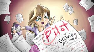 Growing Around Title Card: Pilot