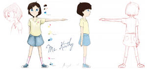 Character Concept #1: Ms.Kathy