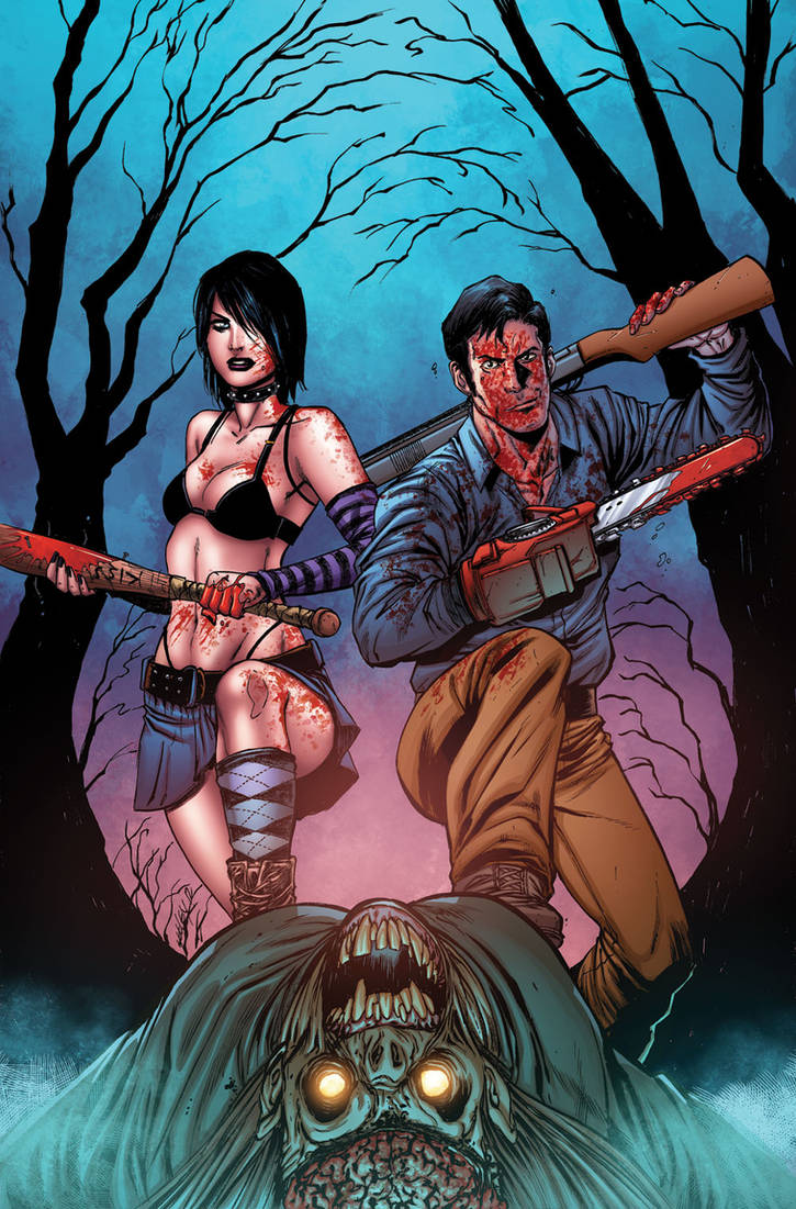 Hack/Slash vs Army of Darkness 01 cover