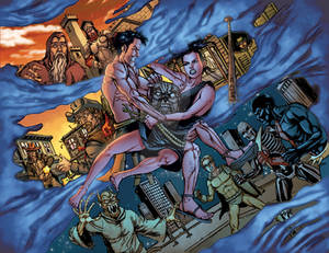 Army of Darkness vs Hack/Slash # 06 08-09 color