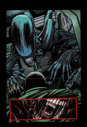 Aliens: Isolation # 1 page 04 color