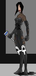 Aeon Flux concept 6 by skankerzero