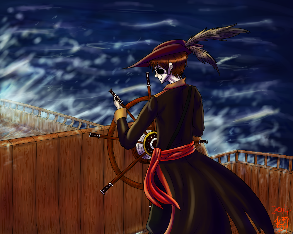 the bloodthirsty Captain by Erleuchtete