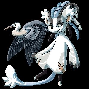 [G] Blue herons by EarlNoir
