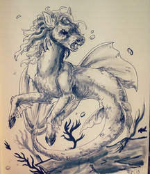 Mythicmay Hippocampus by EarlNoir