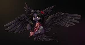 OSMO   Blobobin Custom: Black Swan