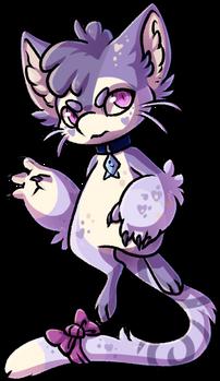[OSMO] Blobobin - Lavender Kitten - OPEN