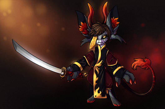 The Undead Flame Warrior