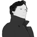 Benedict Cumberbatch as Sherlock Holmes by Ravenstorm-Foralle