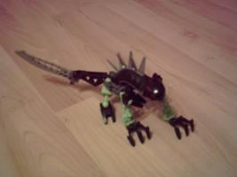 Panther Lizard by Komodozilla