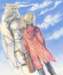 the Elric Brothers by Palila