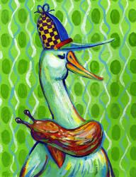 Herr Ente by Palila