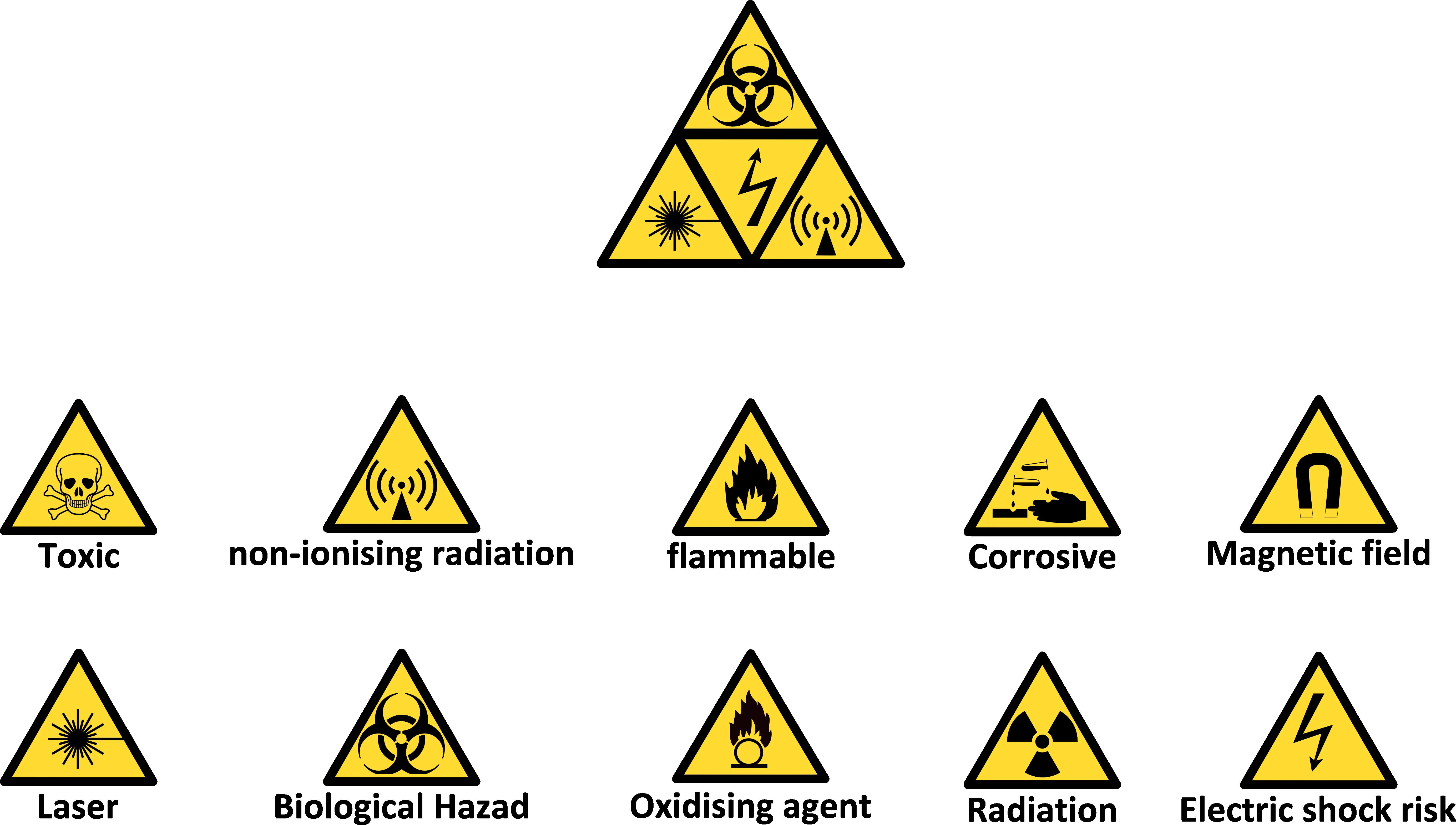 Warning Symbols by a01421 on DeviantArt