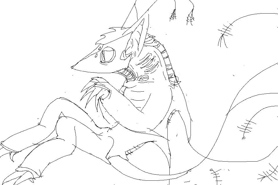 Messy sketch #3 by E46938