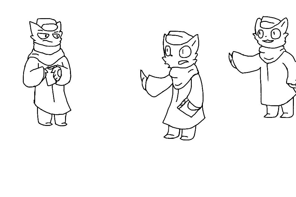 Trio doodle by E46938