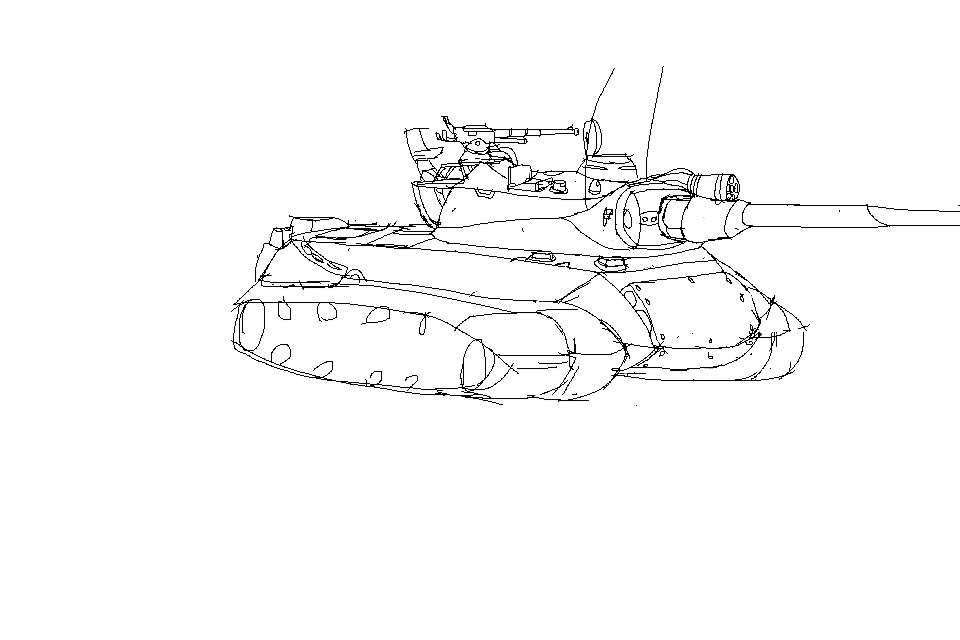 Tank doodle by E46938