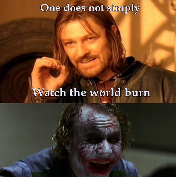 One does not simply.... by AwkwardShade on DeviantArt