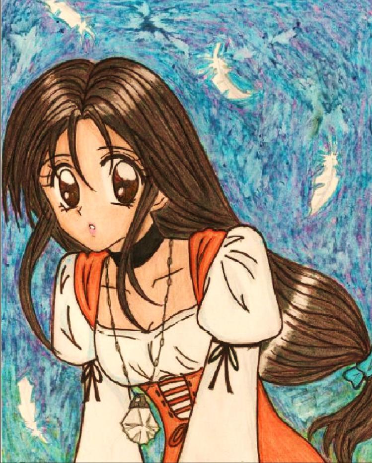 Garnet Til Alexandros manga version by dagga19 by dagga19