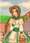 Aerith Final Fantasy Tactics version by dagga19