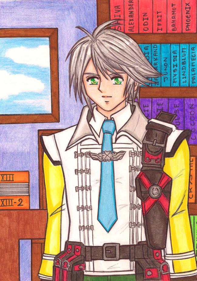 FFXIII-2: Hope Estheim, leader of the Academy by dagga19