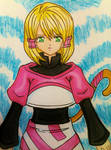Mikoto anime style  by dagga19