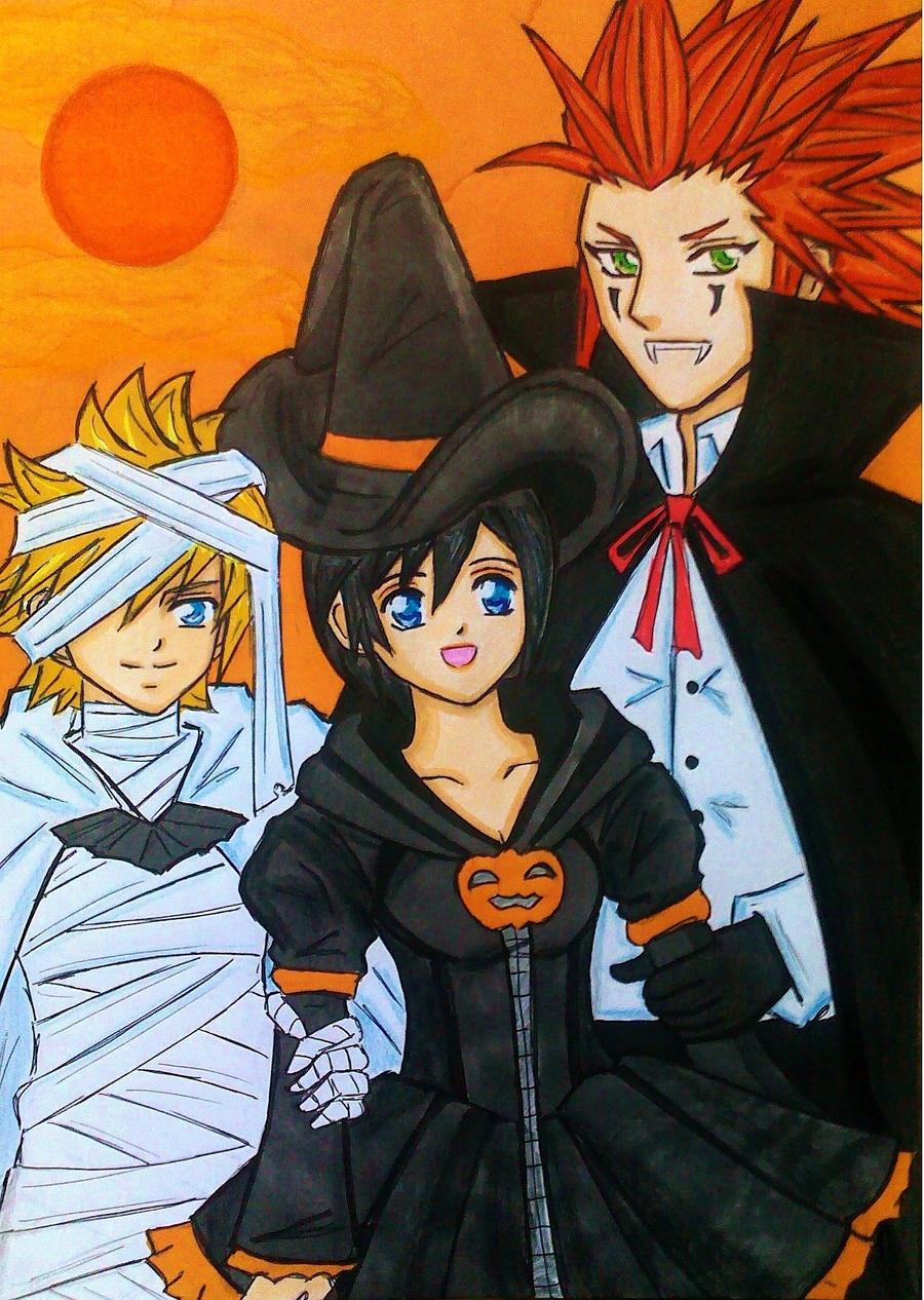 AkuRokuShi: Happy Halloween by dagga19 by dagga19