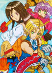 Final Fantasy IX battle by dagga19