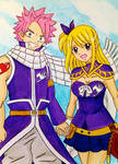 Natsu x Lucy: Team up! by dagga19