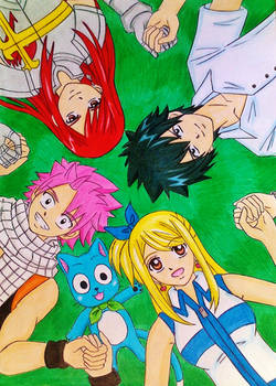 Fairy Tail Main Team