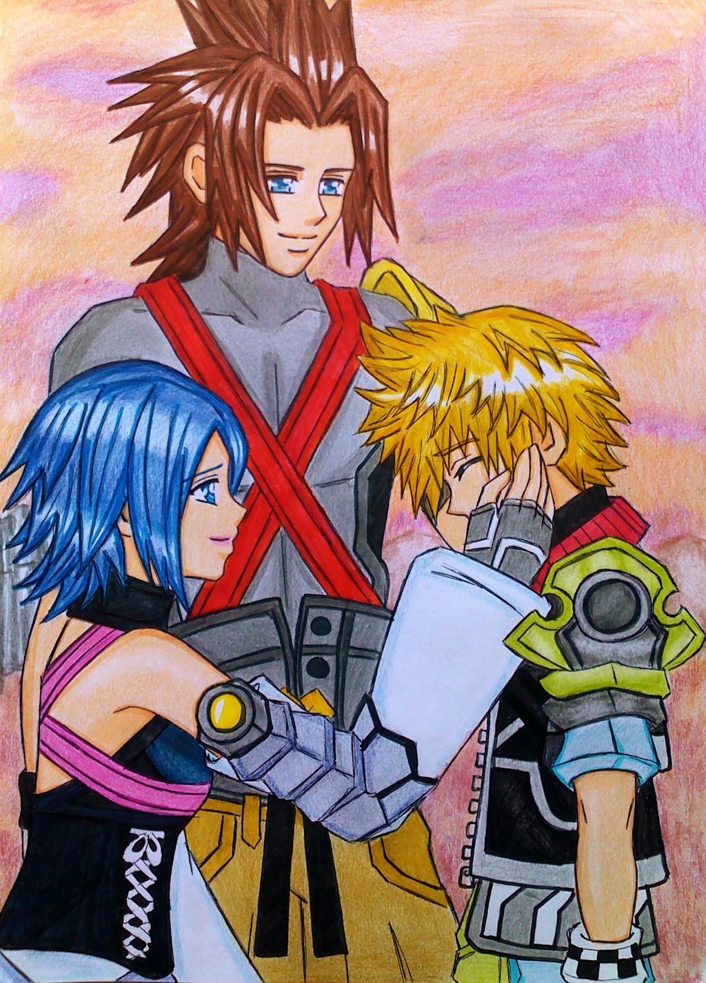 Terra-Aqua-Ven:We'll always be together... by dagga19 on ...Terra And Aqua