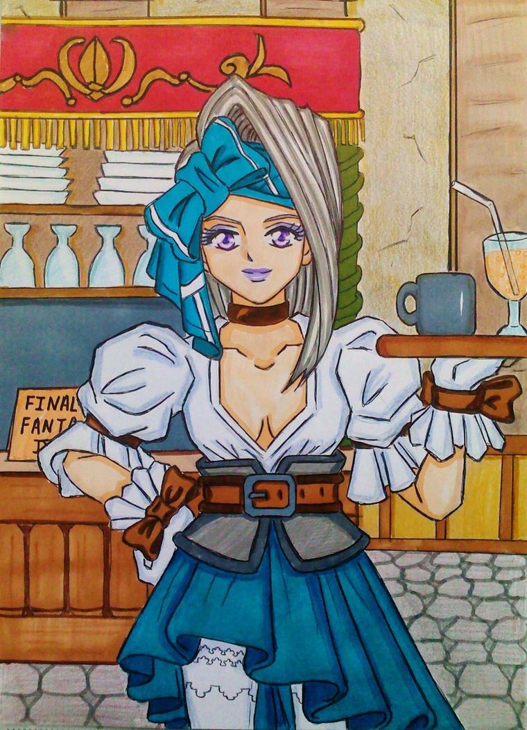 Final Fantasy IX :Ruby / Rubis/ Carmen by dagga19