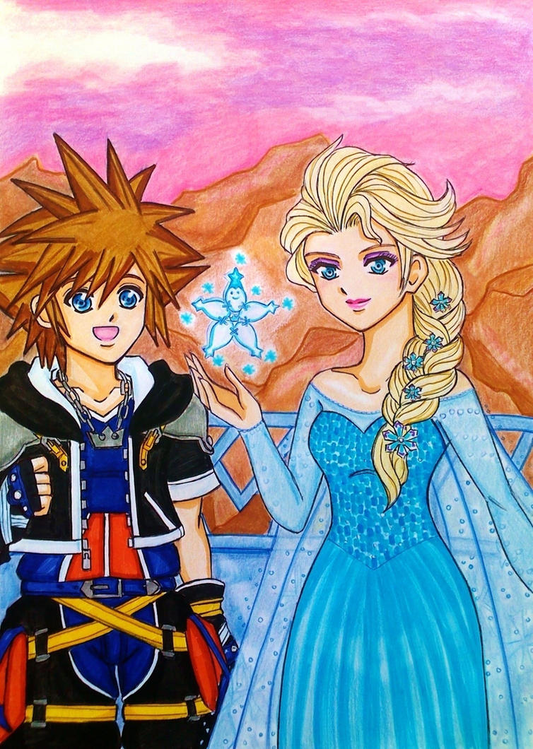 sora_and_elsa__this_is_my_power_by_dagga