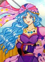Final Fantasy II: Leila, captain of the Pirates by dagga19