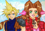 Cloud x Aerith: I can't forget her smile...