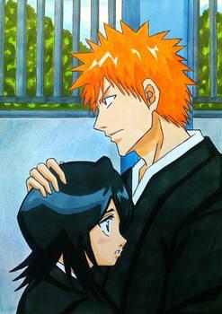 Ichigo x Rukia: I will protect you
