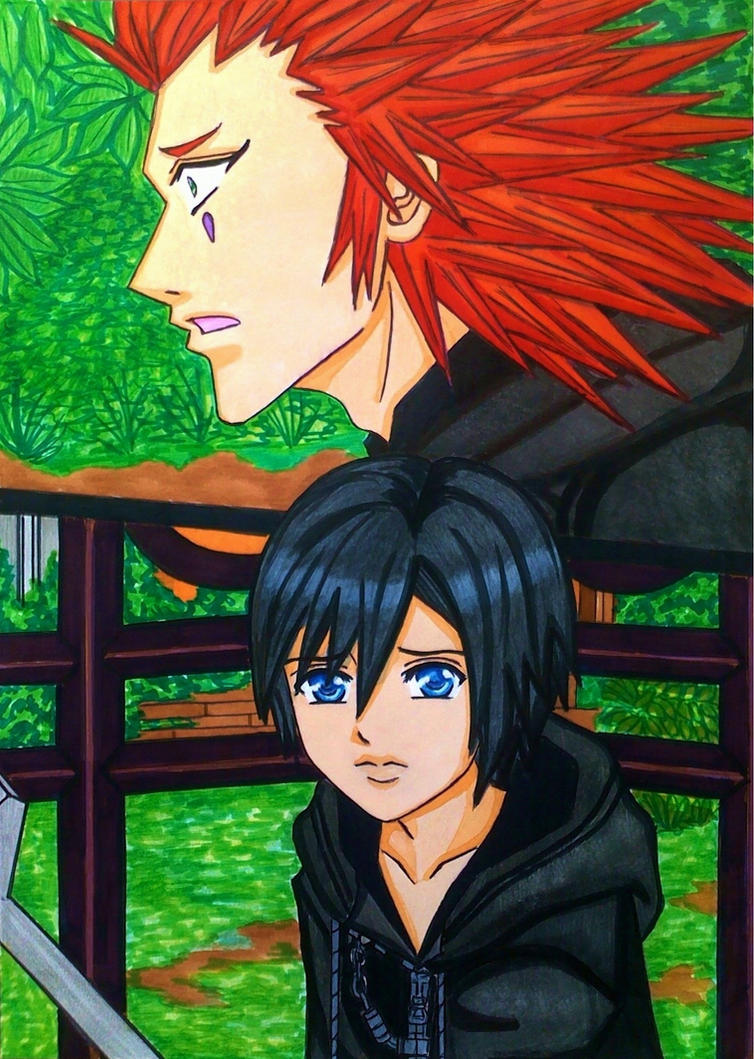 Axel x Xion: Please don't hold back! by dagga19