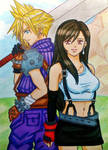 Cloud x Tifa: I will always protect you