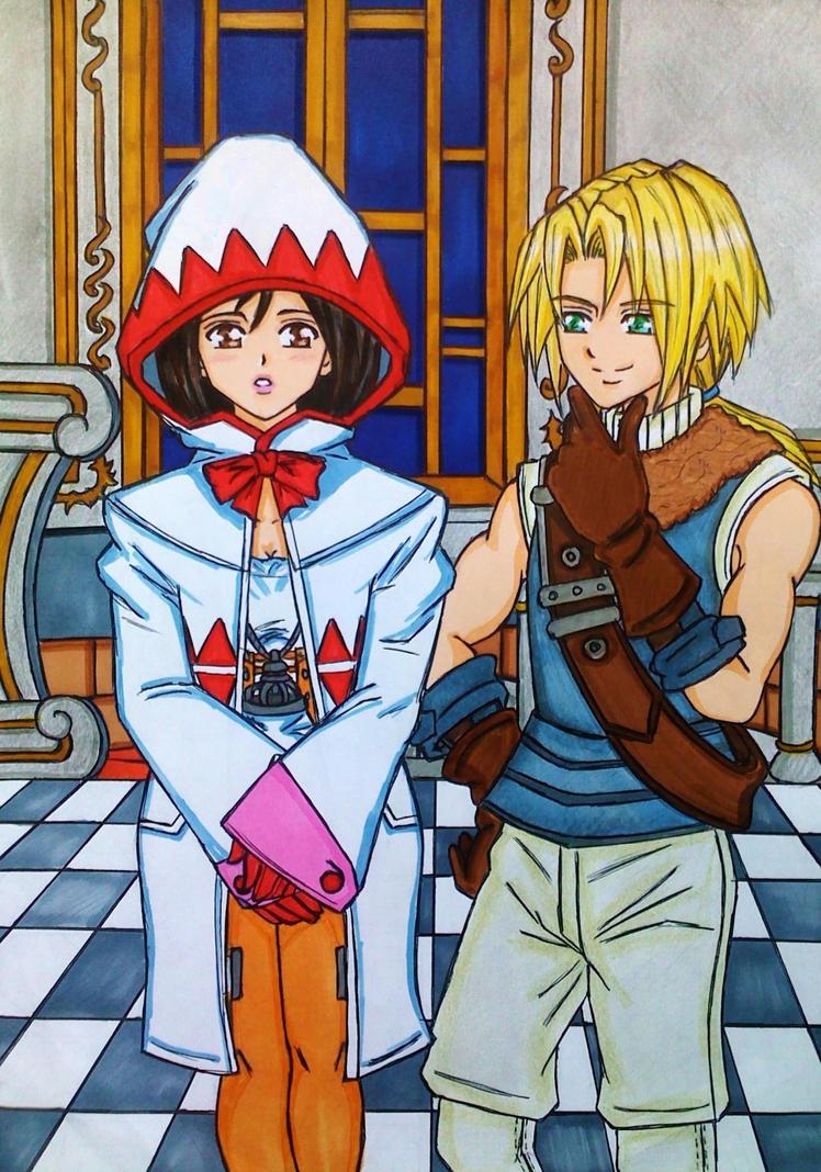 FFIX: A thief and a princess under disguise by dagga19