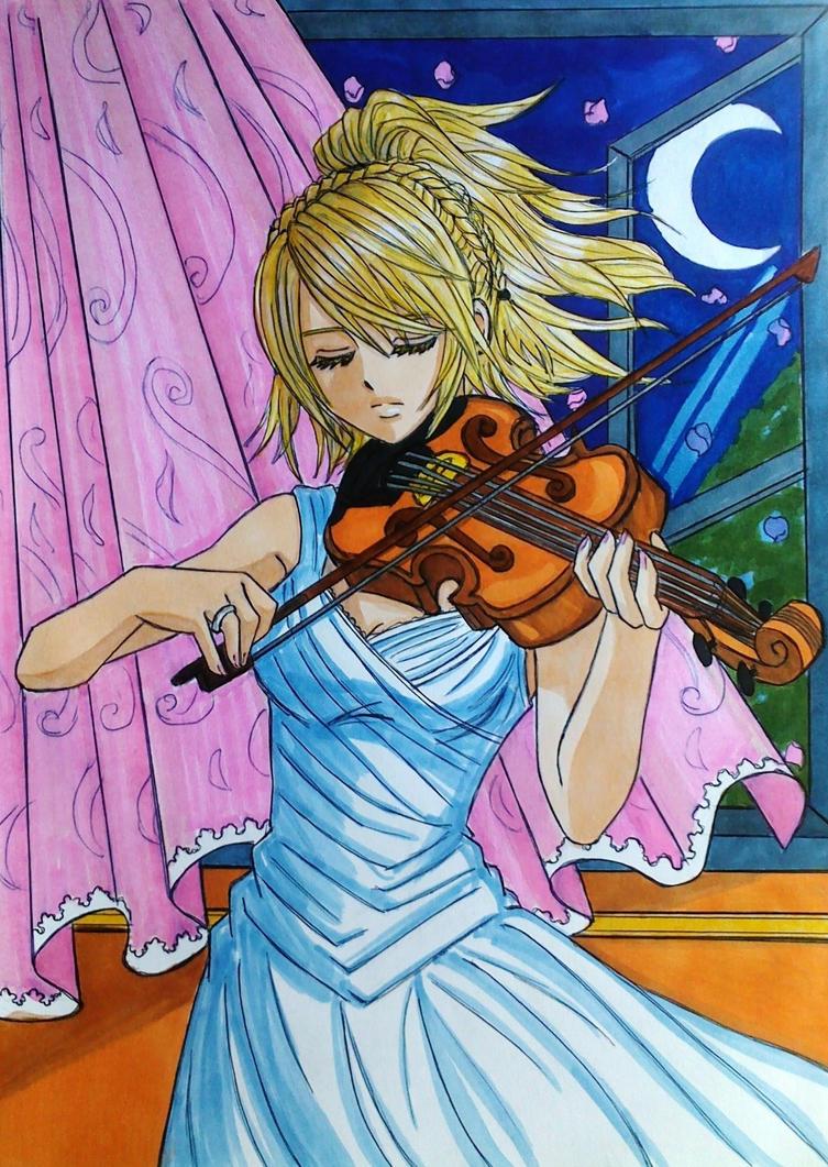 Final Fantasy XV: Lunafreya Nox Fleuret by dagga19