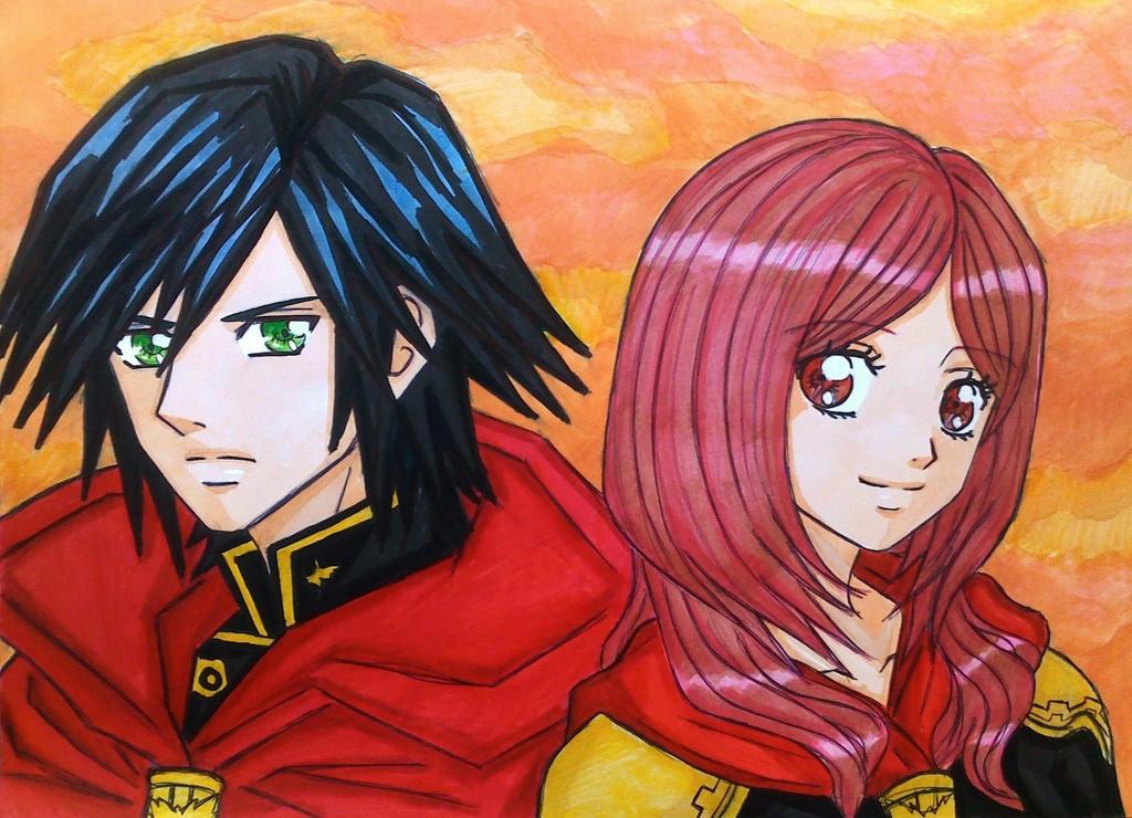 Final Fantasy Type 0 : Machina x Rem by dagga19