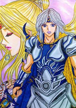 Final Fantasy IV: Cecil Harvey x Rosa Farrell