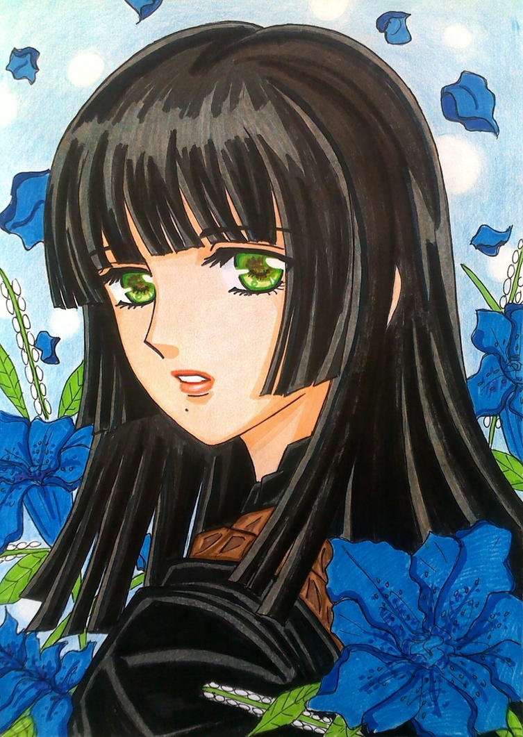 Final Fantasy XV: Gentiana by dagga19