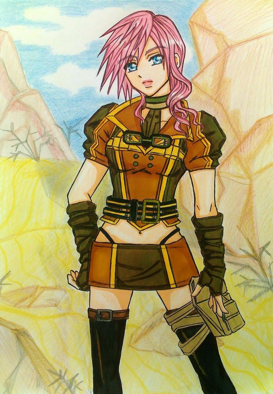 Lightning Returns FFXIII: Sand Fox by dagga19